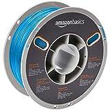 AmazonBasics - Hochwertiges 3D-Drucker-Filament aus PLA-Kunststoff, 1,75 mm, Weiß, 1-kg-Spule