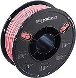 AmazonBasics - PETG 3D-Drucker Filament, 1,75 mm, 1 kg Spule, Durchsichtig