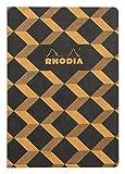 Rhodia 117172C Heritage Notizheft  (mit Fadenbindung, kariert, 80 Blatt, limitierte Edition, elegant...