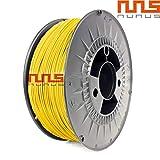 NuNus PETG Filament 1KG (1.75mm, gelb) * PET-G - Polyethylenterephthalat * Premium Qualität in...