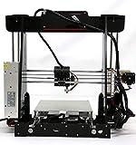 Anet A8 3D Drucker, Prusa I3 3D Printer DIY, 3D-Drucker Kit, Upgradest High Precision Selbstbauen 3D...