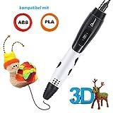 3D Stifte für Kinder mit LCD Display, 3D Druckstift, 3D Stift Set mit 1,75 mm PLA Filament für...
