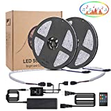 LED Streifen Musik, kdorrku 10M 300 LED Lichtband , LED Bänder SMD 5050 Wasserdicht Flexibel LED...