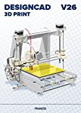 FRANZIS DesignCAD 3D Print V26|V26|3D-Druck für 2D-/3D-CAD|Professionelle CAD-Software|Für Windows...