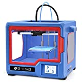 XINDI 2018 QIDI Technology New Generation 3D Printer:X-one2,Metal Frame Structure,Platform Heating