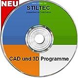 TOP CAD Design und 3D Software + Symbole NEU ORIGINAL von STILTEC