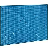 MAXKO Schneidematte 90 x 60 cm , blau, selbstheilend, metrische Einteilung - mit 2 Jahren...