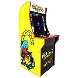 ARCADE1UP Retro Arcade Machine Spielautomat (Pac-Man, 1.20m hoch, 17 Zoll Full Color High Resolution...