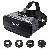 HAMSWAN 3D VR Brille für Handy, Video Movie Game Brille Virtuelle Realität Headset Kompatibel mit...