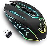 Gaming Maus kabellos, Bis zu 10000 DPI Programmierbare uhuru Gaming Mouse mit 6 Programmierbaren...