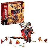 LEGO 70674 NINJAGO Feuerschlange, Spielzeug für Kinder mit 4 Minifiguren, Meister des Spinjitzu...