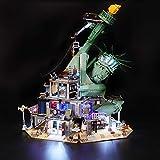 BRIKSMAX Led Beleuchtungsset für Lego Apocalypseburg, Kompatibel Mit Lego 70840 Bausteinen Modell -...