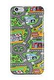 Loomiloo Cover Stadt Straßen Auto Comic Grafik Handy Hülle Case 3D-Druck Top-Qualität Kratzfest...