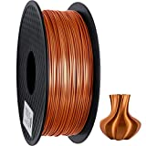 GEEETECH PLA filament 1.75mm Silk Copper, 3D Drucker Filament PLA 1kg Spool