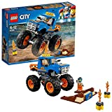 LEGO City 60180 - Starke Fahrzeuge Monster-Truck, Kinderspielzeug