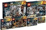 LEGO Herr der Ringe 9469 9470 9471 9473 9474 9476 Super Set