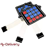 AZDelivery 5 x 4x4 Matrix Array Keypad Tastenfeld Tastatur für Arduino mit gratis eBook!