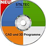 TOP CAD Design und 3D Software + Symbole NEU ORIGINAL von STILTEC