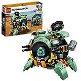 LEGO 75976 Overwatch Wrecking Ball mit Hamster-Figur Hammond, Spielzeug