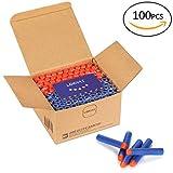 Looyat 100 Stück Darts Pfeile MEGA-Packung in top Qualität. Nachfüllpack und sofort mehr Munition...