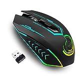 uhuru Gaming Maus kabellos, Bis zu 10000 DPI Programmierbare Gaming Mouse mit 6 Programmierbaren...