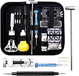 Eventronic Uhrenwerkzeug Set, Uhr Reparatur Uhrmacherwerkzeug Uhr Werkzeug Tasche Watch Tools in...
