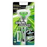 Auslaufmodell Gillette Mach3 Sensitive Rasierer Für Männer (mit 2 Klingen)