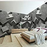Lifme Benutzerdefinierte Jede Größe 3D Wandbild Tapete Beton Ziegel Kunst Panel Wandbild E 3D...