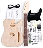 Rocktile DIY TL Bausatz E-Gitarre ('Do-it-yourself' E-Gitarre Bausatz, TL-Style, Korpus: Linde,...