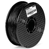 JANBEX PLA (Grau) Filament 1,75 mm 1kg Rolle für 3D Drucker oder Stift in Vakuumverpackung