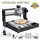 Upgrade CNC 3018 Pro Fräsmaschine Laser Graviermaschine,Vogvigo Holz Router Kit GRBL Steuerung DIY...