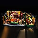 BRIKSMAX Led Beleuchtungsset für Lego Central Perk Friends,Kompatibel Mit Lego 21319 Bausteinen...