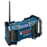 Bosch Professional 18V System Akku Baustellenradio GML SoundBoxx (Aux-In, ohne Akkus und Ladegerät,...