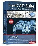FreeCAD Suite - Professionelle 2D und 3D Konstruktion Architektur, Maschinenbau, Elektrotechnik,...