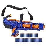Nerf Elite Titan CS-50 Spielzeug Blaster – Vollautomatisch, 50-Dart Trommelmagazin, 50 Nerf Elite...