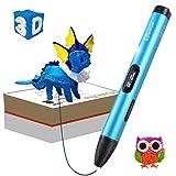 Tipeye 3D Stifte für Kinder mit LCD Display, 3D Druckstift, 3D Stift Set mit 1,75 mm PLA Filament...