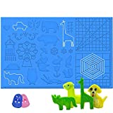 dikale 3D Stift Set für Kinder mit PLA 12 Farben für Kritzelei, Basteln, Zeichnung, Kunstwerk,...