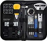 Eventronic Uhrenwerkzeug Set , Uhr Reparatur Uhrmacherwerkzeug Uhr Werkzeug Tasche Watch Tools in...