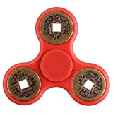 Longruner Spinner Fidget LED Lights Finger Toys Lots of Modes Flashing Light Up EDC Fidget Toys...