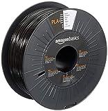Amazon Basics 3D-Drucker-Filament aus PLA-Kunststoff, 1,75 mm, Schwarz, 1-kg-Spule