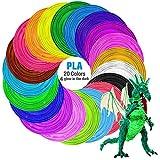 3D Stift, Tecboss 3D Stifte mit LCD Bildschirm für Kinder, 3D Druck Stift Set mit PLA Farben für...