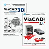 ViaCAD 3D Professional 10 inkl. PowerPack 10 - Fortgeschrittenes CAD-Design inkl. leistungsstarker...
