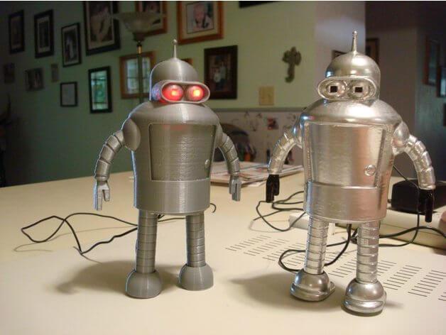 10 coole roboter aus dem 3d drucker 3d make. Black Bedroom Furniture Sets. Home Design Ideas