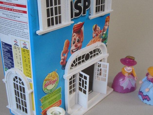 3d druck modell haus 3d print model house