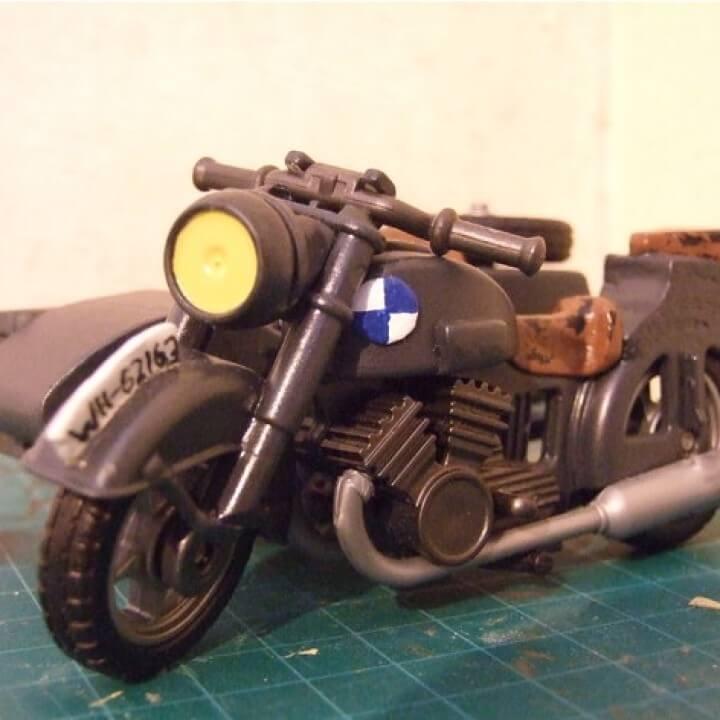 3d-modell playmobil motorrad 3d model motorbike