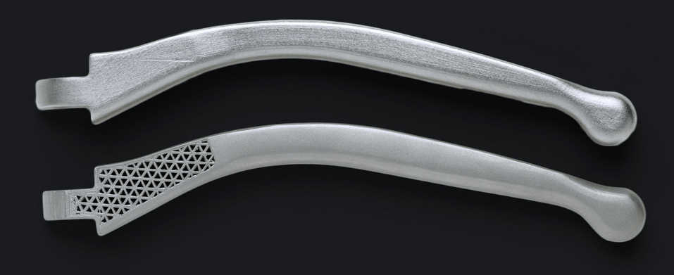3D-Metalldruck Hebel