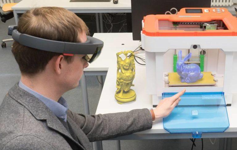 Jens Grubert VR Printing