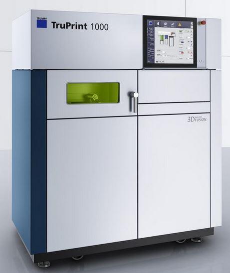 3d-drucker trumpf truprint 1000 3d printer