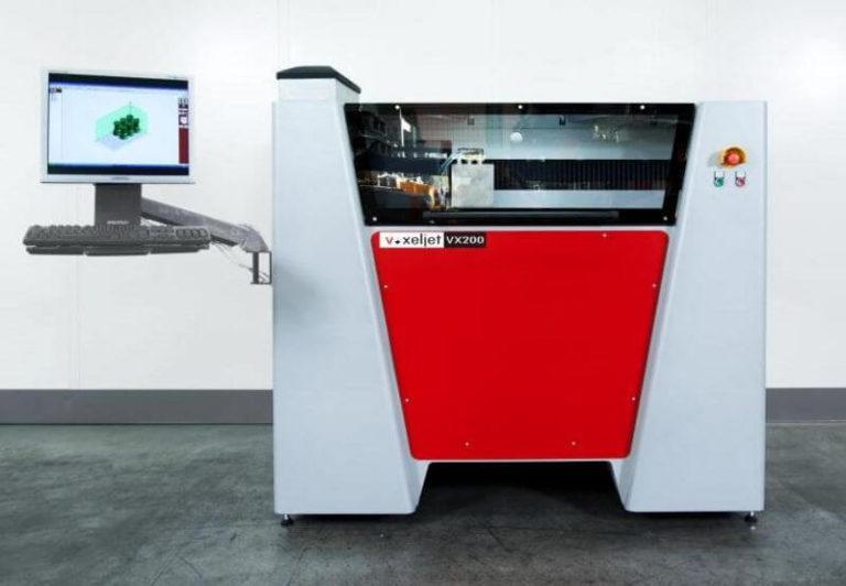 3d-drucker voxeljet vx 200 3d printer