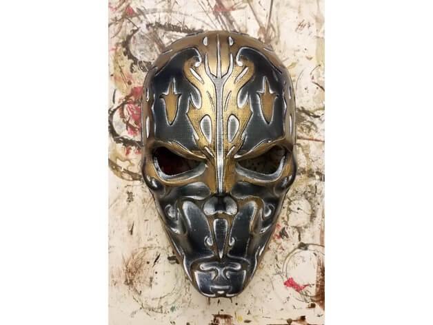 3d model mask skull